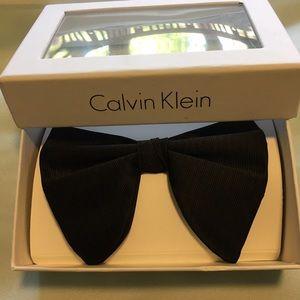 NWT Calvin Klein Black Tuxedo Bow Tie